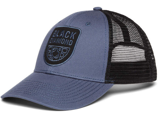 Black Diamond Low Profile Trucker Hat ink blue-black